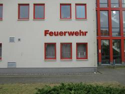 Feuerwehr Lauchhammer-3D Buchstaben
