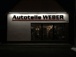 Autoteile Weber-3D Buchstaben