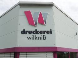 Druckerei Wilkniß-3D Buchstaben