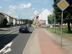Freienhufener Str. 58 / B96 links und rechts