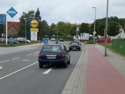Freienhufener Str. 44 / B96 Richtung Freienhufen