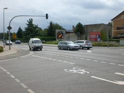 Neue Str. 15 / B96 links und rechts