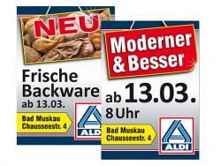 ALDI GmbH & Co. KG-Plakate DIN A1 Neueröffnung
