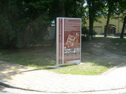 Gemeinde Schipkau-Aufsteller mit Rahmenprofil