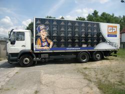 GetränkePartner NEV GmbH-LKW Beschriftung