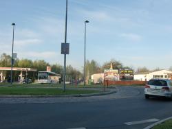 Bockwitzer Str. 97, Kreisverkehr