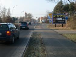 Briesker Str. B169, Tankstelle links, Grubenstr. WE rechts
