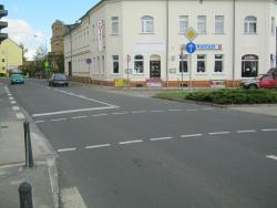 Denkmalsplatz, Lauchhammer Str.