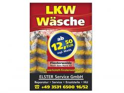 Elster Service GmbH-Plakate DIN A2, doppelseitig