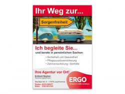 ERGO Lebensversicherung AG Eckhard Stephan-Plakate DIN A1