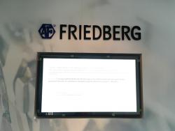 Formteil-und Schraubenwerk Finsterwalde GmbH-Logo aus massiven Acrylbuchstaben