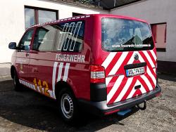 Stadtverwaltung Lauchhammer-Fahrzeugbeschriftung VW T5 Feuerwehr