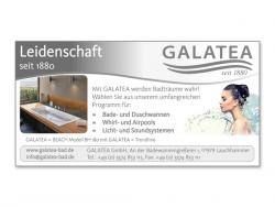 GALATEA GmbH-Gestaltung Anzeige 98 x 50 mm