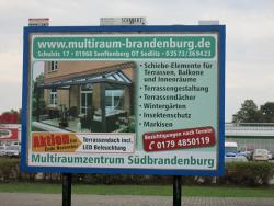 Multiraumzentrum Südbrandenburg Ronny Buder-Großflächenwerbung