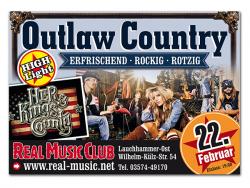 Real Music Club-Großflächenwerbung für Veranstaltung