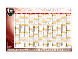 Eigenwerbung RM1-Wandkalender