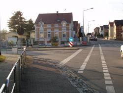 Friedensstraße, Krankenhaus