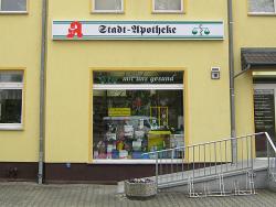 Stadtapotheke Sabine Hoffer-Leuchtkasten für Fassade 5 x 0,5 mm