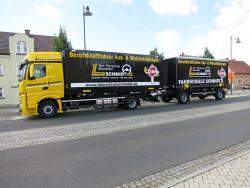 Taxi Fahrschule Busverkehr Schmidt-Lkw- und Anhängerbeschriftung