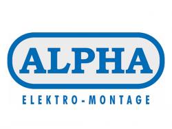 Alpha Elektro-Montage GmbH-Logoentwicklung