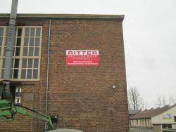 Ritter Service GmbH-Fassadenschild 3 x 1,50 m