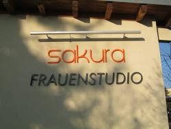 """Sakura GmbH-3D Buchstaben mit Beleuchtung """"Frauenstudio"""""""
