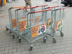 GetränkePartner NEV GmbH-Einkaufswagenschilder