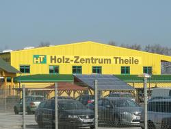 Holz-Zentrum Theile GmbH-Aluverbund Fassadenschild