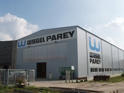 Wiegel Parey GmbH & Co KG-Schilder für Werkshalle