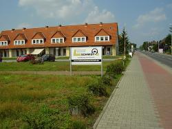 Taxi Fahrschule Busverkehr Schmidt-Firmenaufsteller