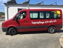 Tagespflege Lebensfreude Sandra Kupfer-Fahrzeugbeschriftung VW Crafter