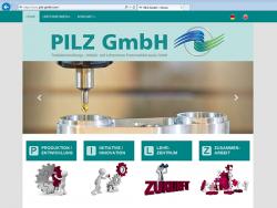 PILZ GmbH-Webdesign